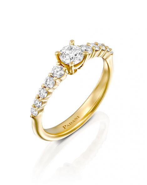 Padani REAL Engagement Ring-0.33