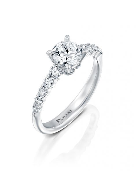 Padani REAL Engagement Ring-0.70