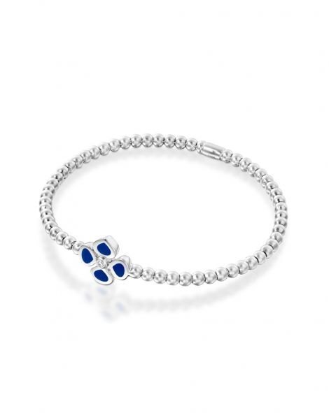 Violetto Blue Enamel Bracelet