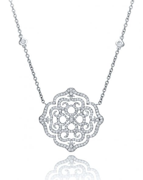 Violetto Lace Necklace