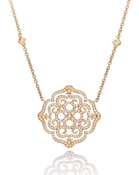 Violetto Lace Necklace