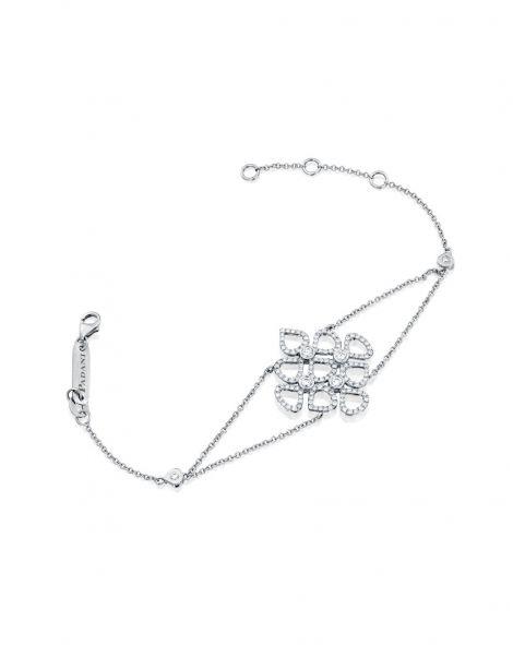 Multi Violetto Contour Diamonds Bracelet