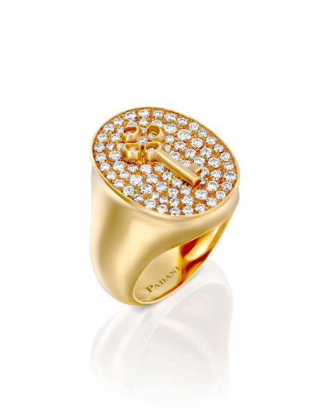 Signet Violetto Key Ring