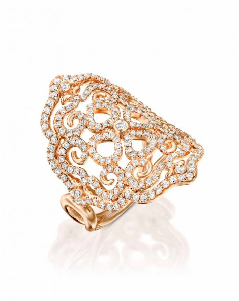 Violetto Lace Ring