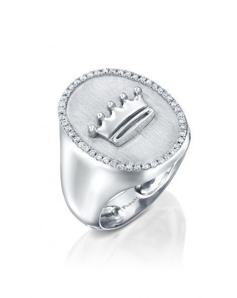 Signet Crown Ring
