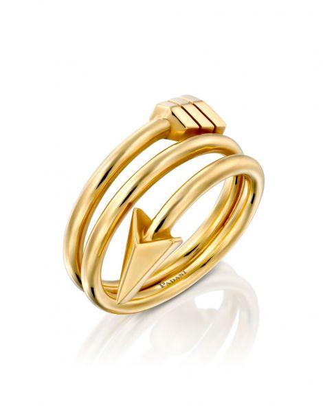 Flow Spiral Arrow Ring
