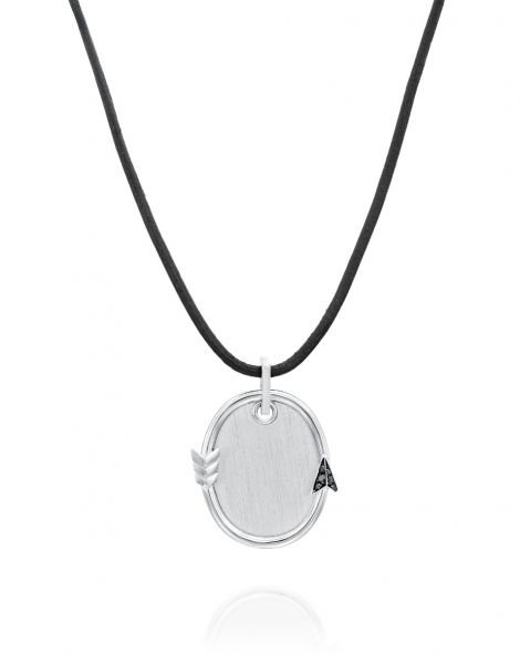 Oval-Shaped Flow Necklace