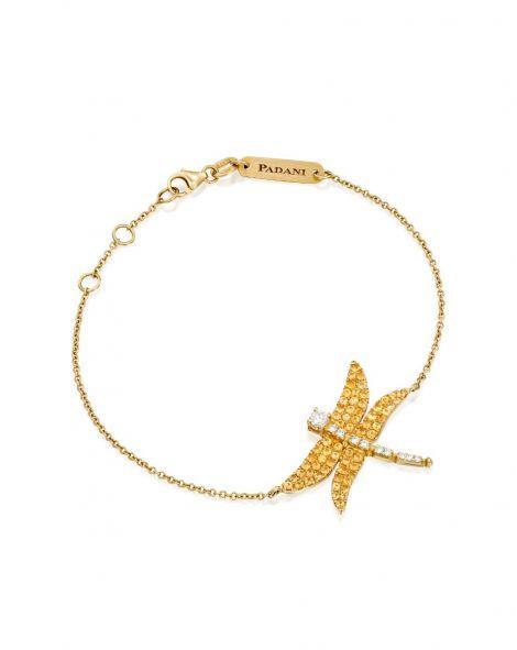 Dragonfly Yellow Bracelet