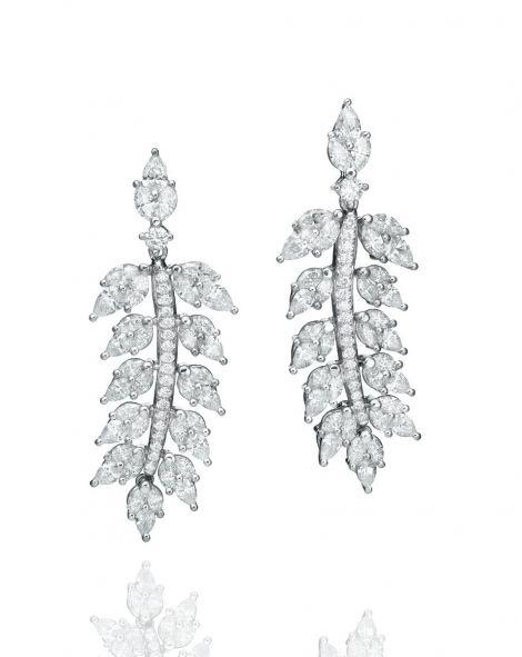 Malvene Leaf Earrings