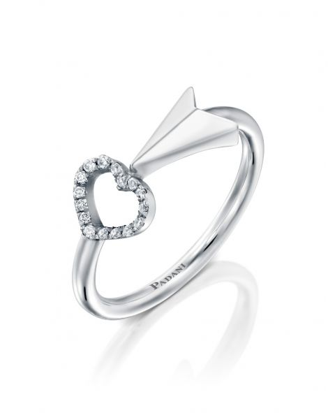 """Flow """"Arrow To Your Heart"""" Ring"""