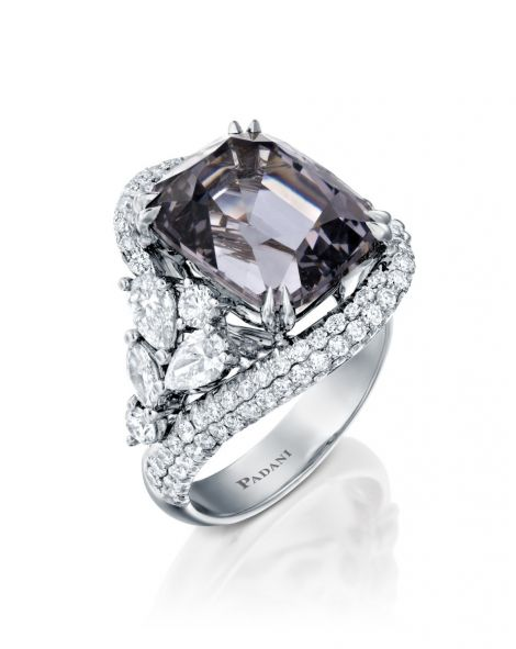 Malvene Violet Spinel Ring