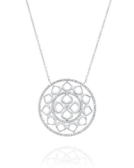 Violetto Circle Necklace