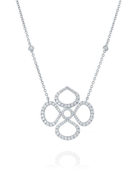 Violetto Contour Necklace