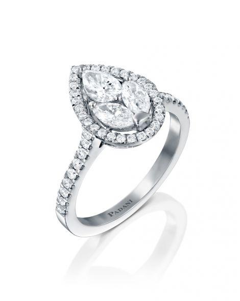 Malvene Big Leaf Ring