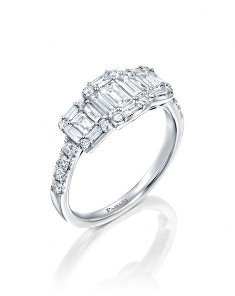 Jovane Cut Diamond Ring