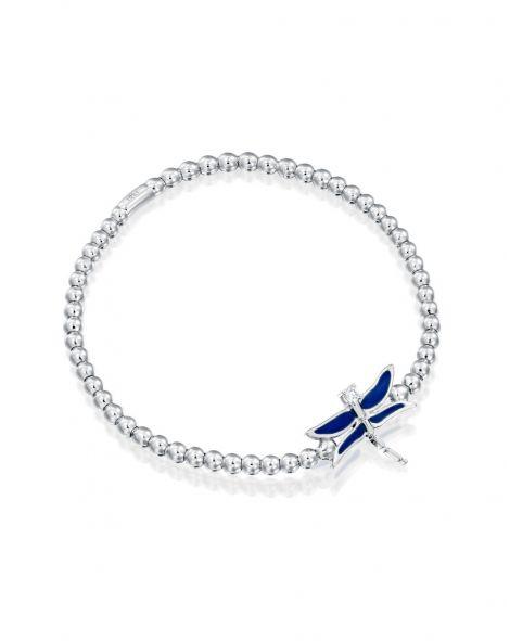 Dragonfly Enamel Bracelet