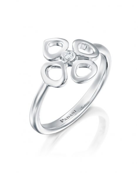 Mini Violetto Contour Ring