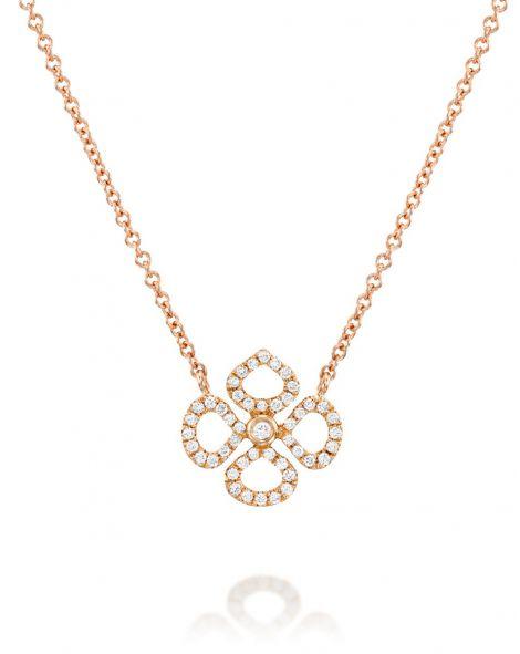 Mini Violetto Contour Necklace