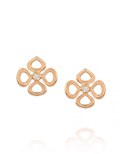 Mini Violetto Contour Earrings