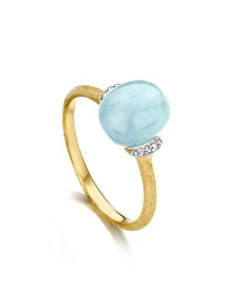 Nanis Aquamarine Ring