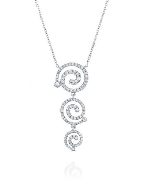 Nautilus 3 Spirals Necklace