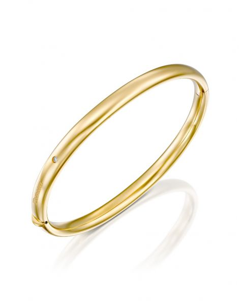 Gold Bangle 5.5 mm