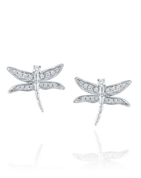 Dragonfly Diamonds Earrings