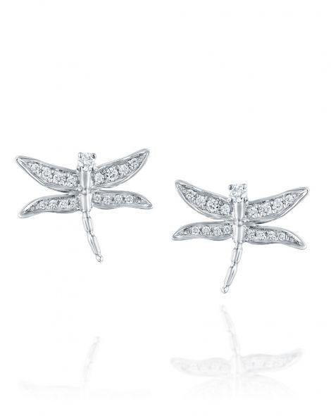 Dragonfly Diamonds Earrings
