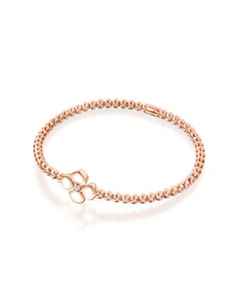Violetto White Enamel Bracelet