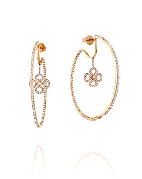 Violetto Hoop Earrings