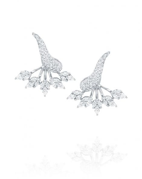 Malvene Double Leaf Earrings