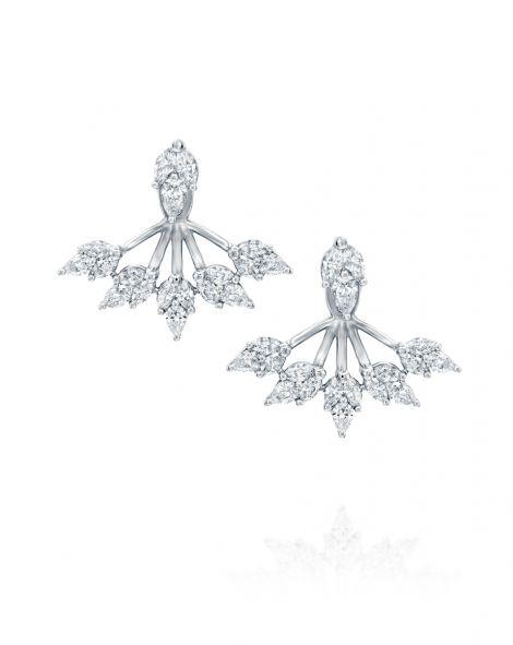 Malvene Five Leaves Earrings