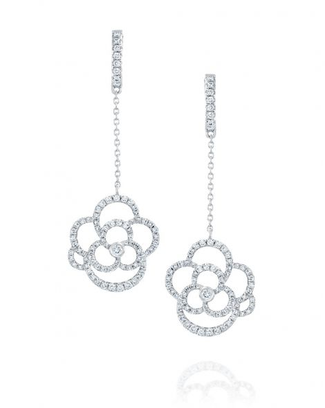 Clouds Diamond Earrings