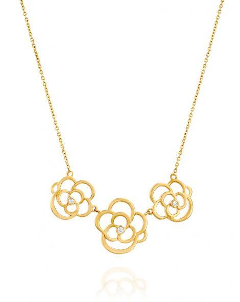Triple Cloud Necklace