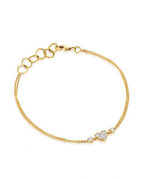 Jovane Heart Bracelet