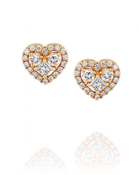 Jovane Heart Earrings