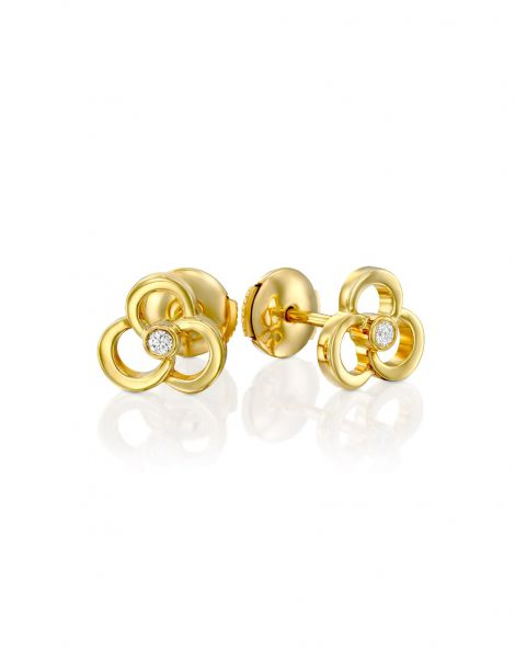 Clouds Stud Earrings