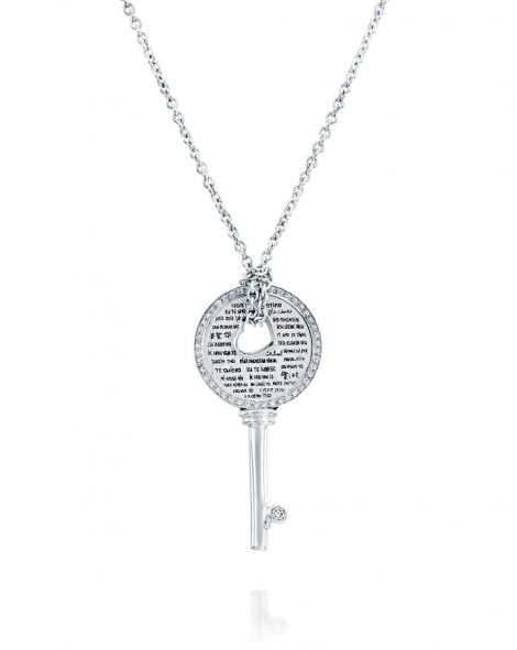 Love Key Diamonds Necklace