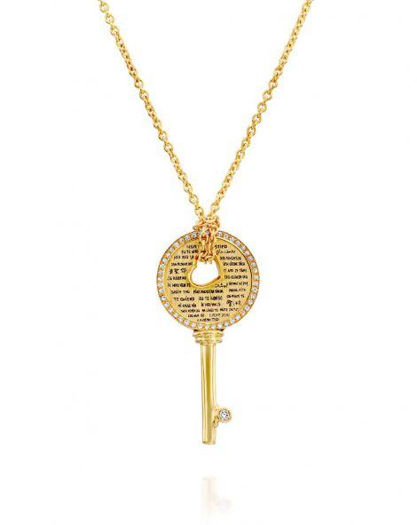 Love Key Diamonds Necklace