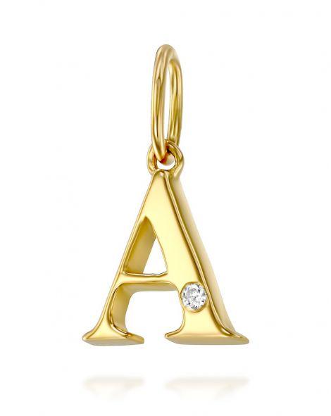 Letter A Mini Pendant