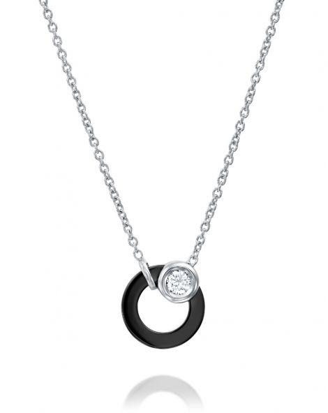 Ceramic Circle Necklace