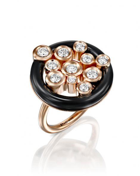 Ceramic Diamonds Ring