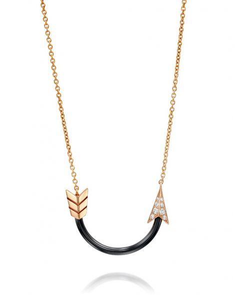 Ceramic Arrow Necklace