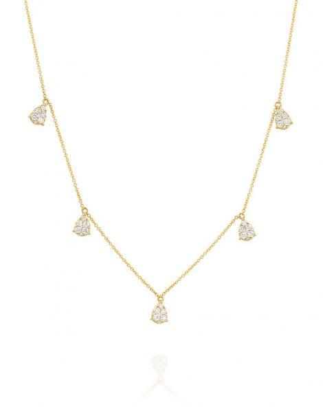 Jovane Multi Drop Small Necklace