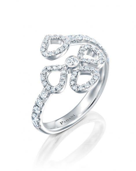 Violetto Contour Open Ring