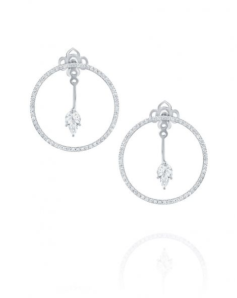 Malvene Hoop Earrings