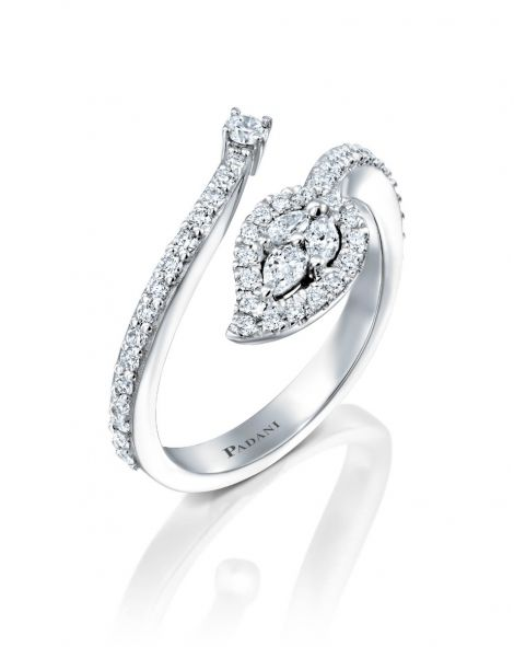 Malvene Leaf Ring