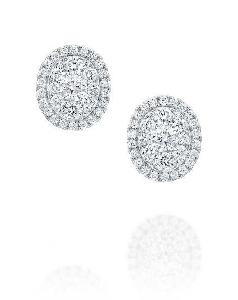 Jovane Stud Oval Earrings
