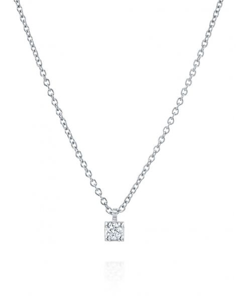 Diamond Necklace - 0.09