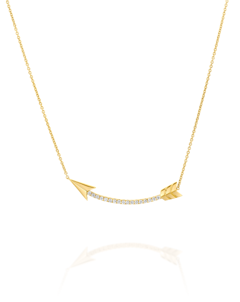 Flow Diamonds Necklace